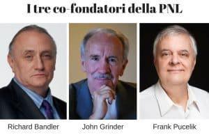 I tre co-fondatori della PNL