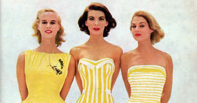 Ilyen volt a divat a 20. században - Pompoint méteráru webáruház ... 1ba220f7a4