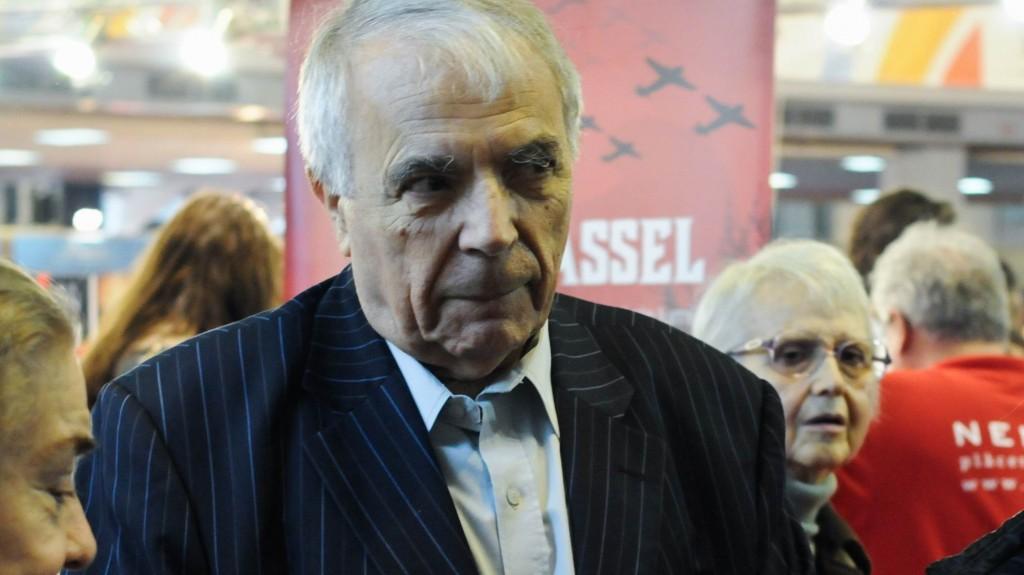 Criticul Nicolae Manolescu neagă legalitatea întrunirii de astăzi FOTO: Lucian Munteanu