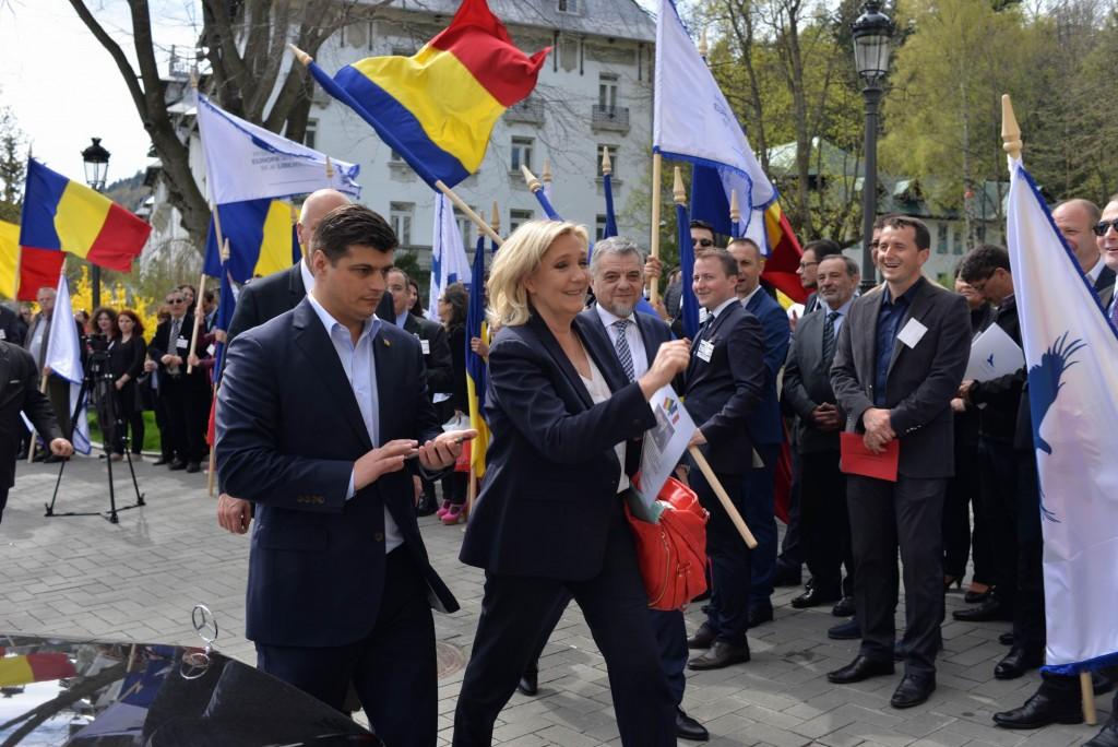 Europa Natiunilor - Sinaia - conferinta Marine Le Pen LM_0027