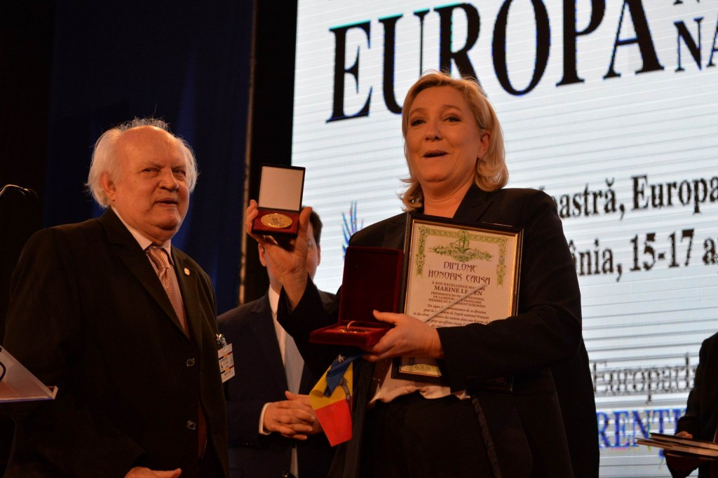Europa Natiunilor - Sinaia - conferinta Marine Le Pen LM_0120