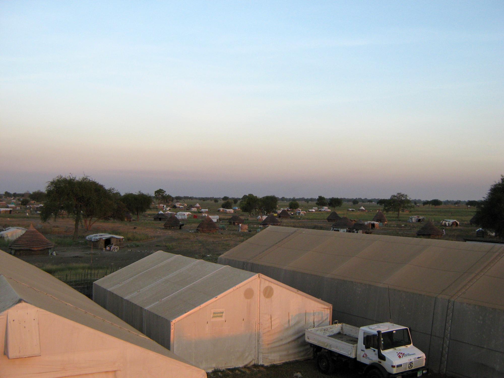 Complexul MSF din Agok, Sudanul de Sud