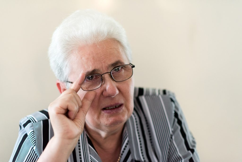 Olga Scurtu, fiica Domnicăi Burdeț Foto: Raul Ștef