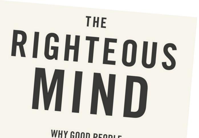 Könyvklub: Jonathan Haidt: The Righteous Mind