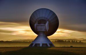 Antenna per comunicazione via satellite