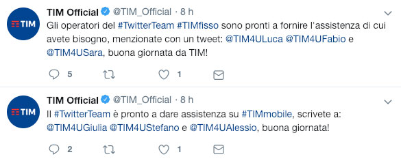 TIM-twitter-account