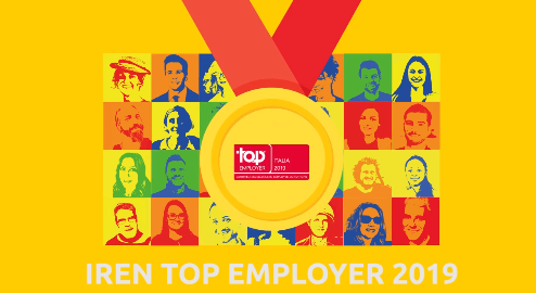 Top Employer Italia Iren