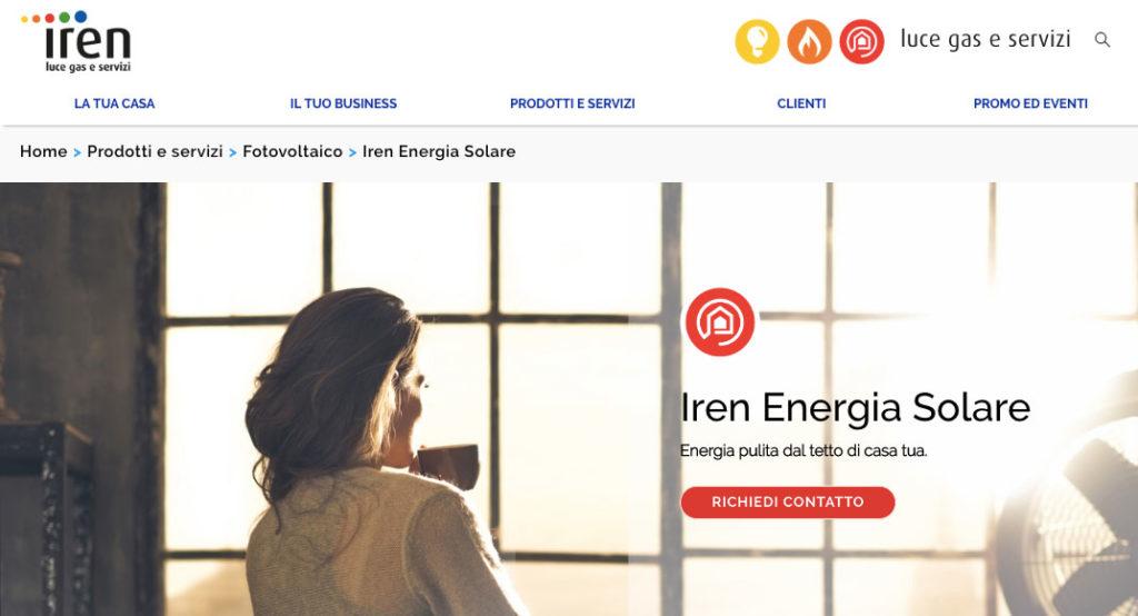 Iren Energia Solare - Simulatore configurazione impianto