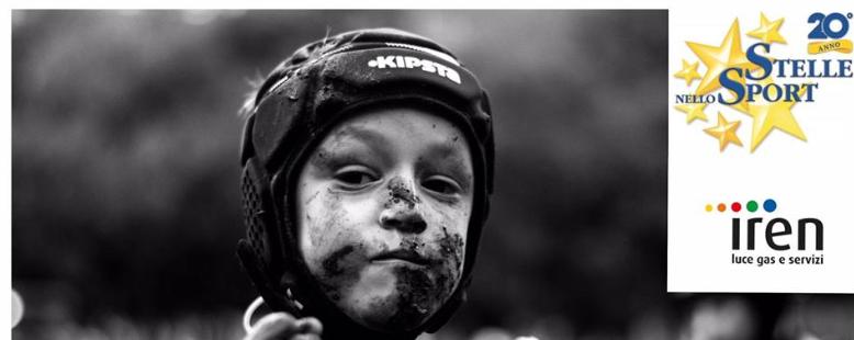 Premio Fotografico Nicali, foto di sport. Bambino con casco con viso sporco di fango