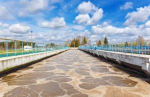 impianto di depurazione dell'acqua