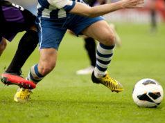 Torneo di Viareggio, partita di calcio