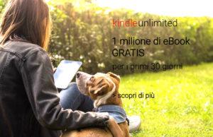 ragazza che legge su un prato ebook gratis amazon kindle