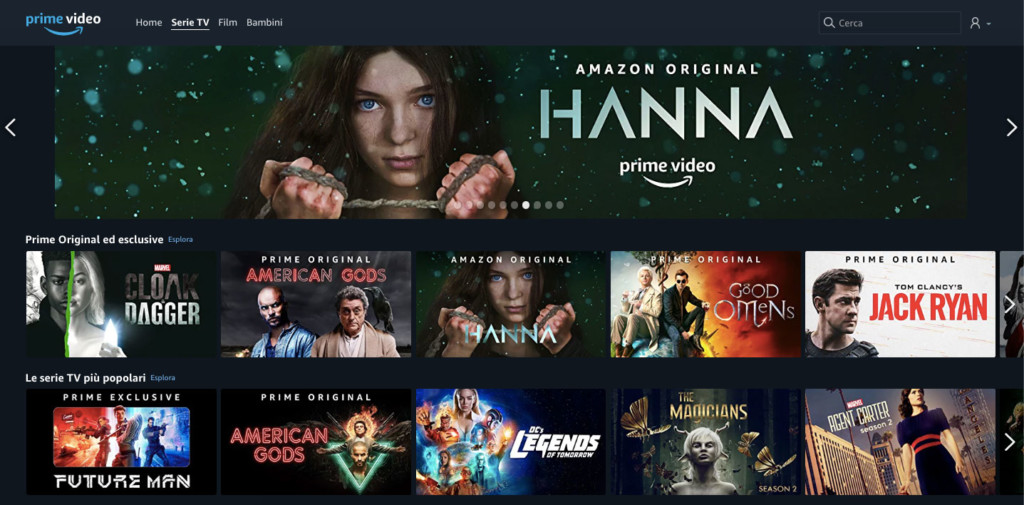 Amazon Prime Video: serie TV e film in streaming ...
