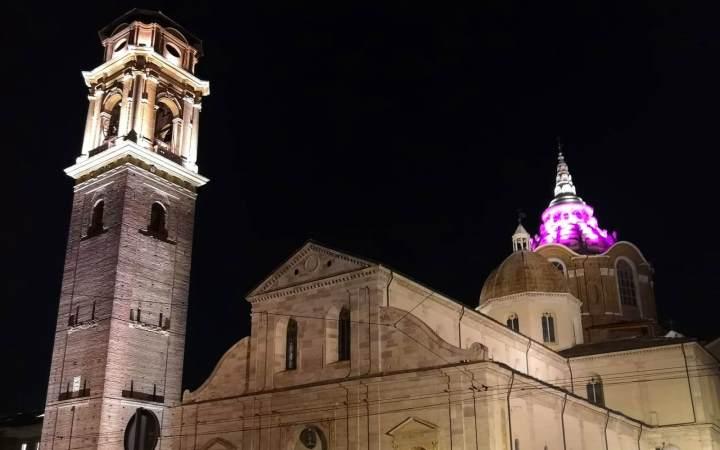 Cappella della Sindone Torino Iren illuminazione