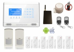 Kit allarme wireless per la casa