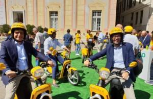 Iren e Mimoto a Genova per il servizio tutto italiano di Scooter sharing