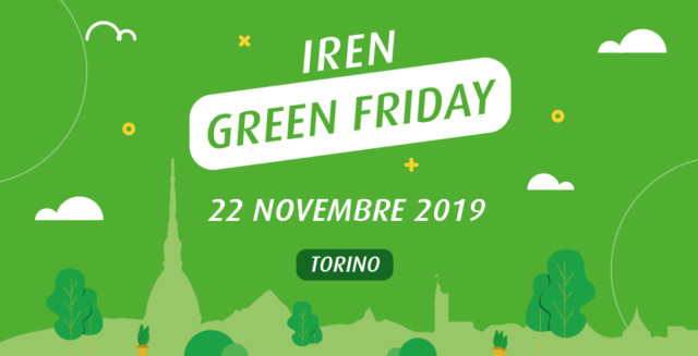 Iren Green Friday a Torino
