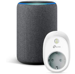 Amazon Echo + presa intelligente TP-Link compatibile regali di natale
