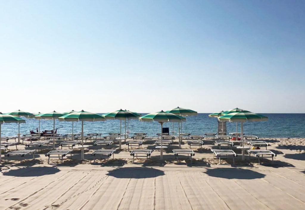 Spiaggia Comunione Calaverde