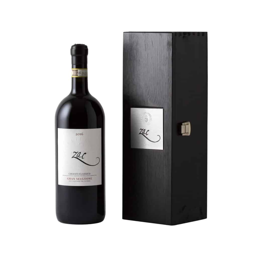 Zac IGT Toscana Sangiovese 1,5 L + Wooden Box