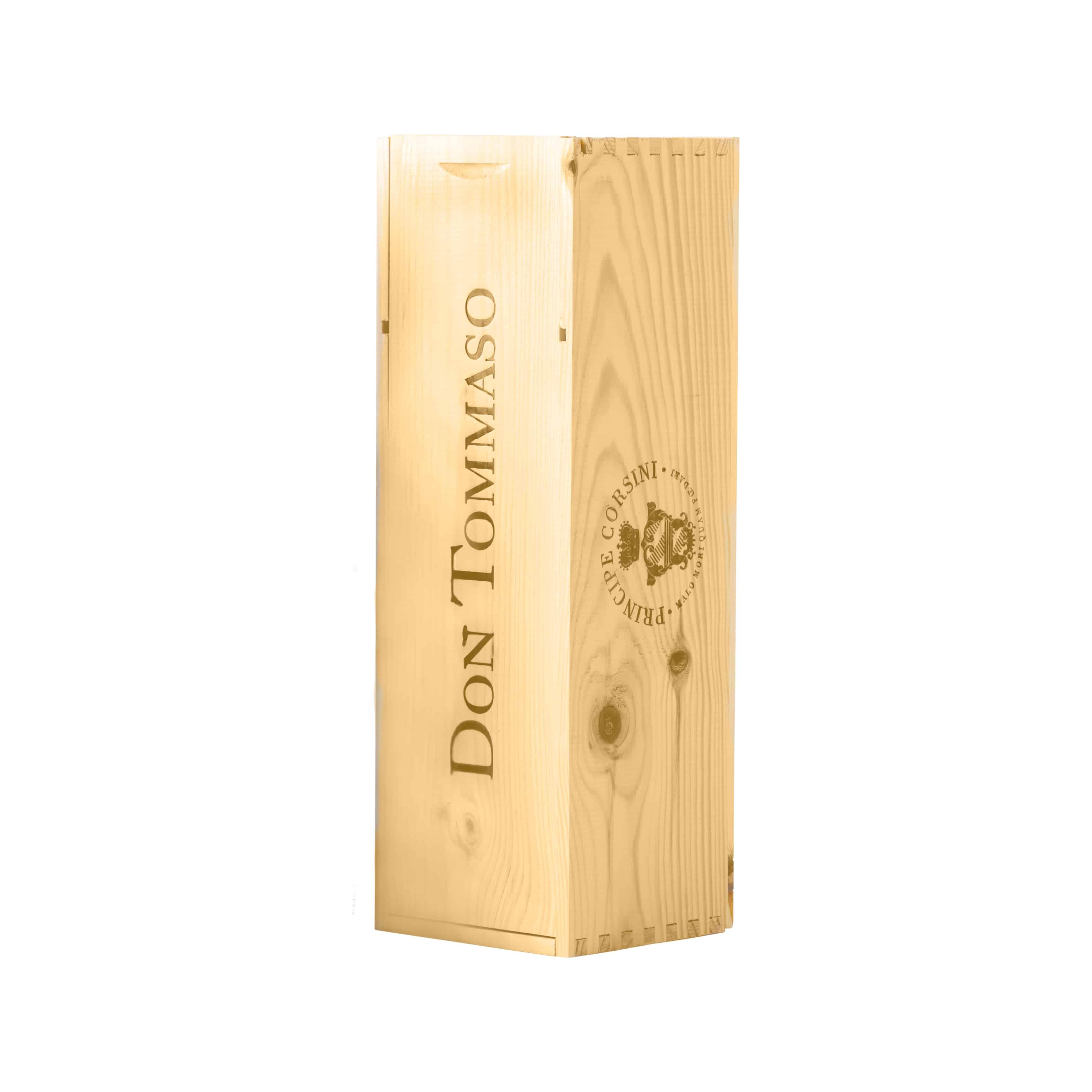 Cassetta di Legno per bottiglia Magnum 1,5 L Don Tommaso