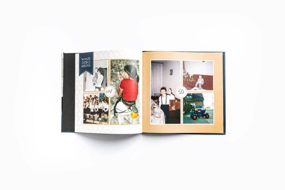 Zdjęcia z dzieciństwa na Podziękowania dla rodziców