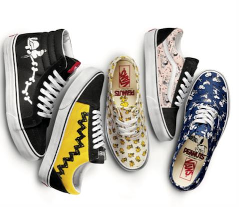 scarpe di snoopy vans