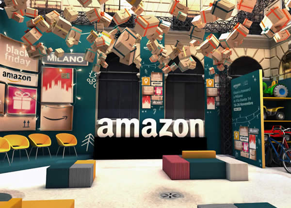 AMAZON Loft for Xmas: apre a Milano il primo Pop-Up store