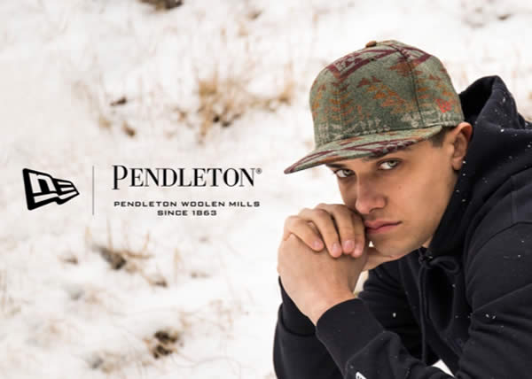 New Era collabora con lo storico lanificio americano Pendleton