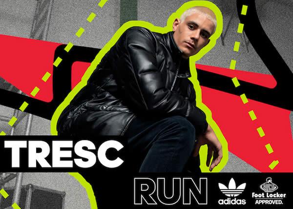 Adidas Originals lancia il nuovo modello TRESC RUN in esclusiva per Foot Locker