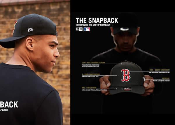 New Era presenta tre rivisitazioni dello Snapback