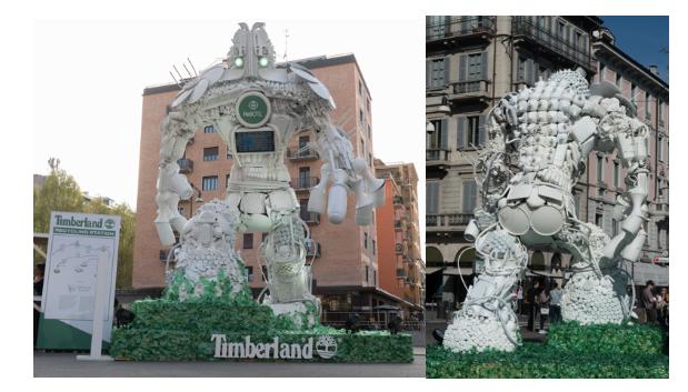 RoBOTL: il supereroe della sostenibilità di Timberland e Giò