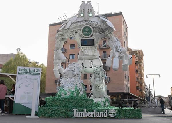 RoBOTL: il supereroe della sostenibilità di Timberland e Giò Forma – MDW