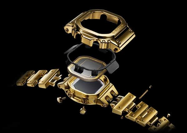 G-SHOCK presenta il primo orologio in oro 18 carati