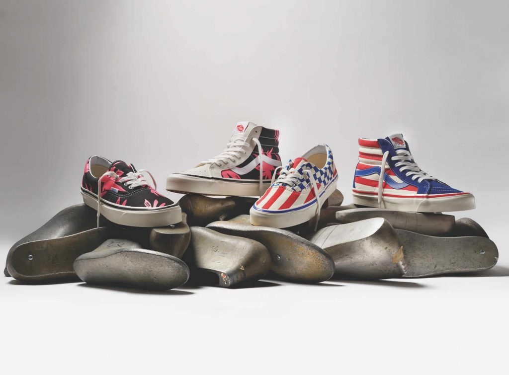 Anaheim Factory VAns scarpe ultimo drop 2019