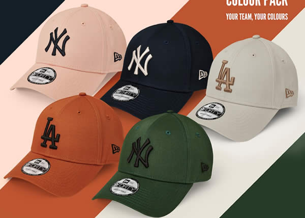 New Era lancia la collezione MLB Color Pack