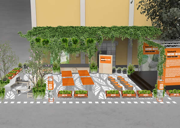 Timberland porta a Milano il travolgente progetto Urban Greening