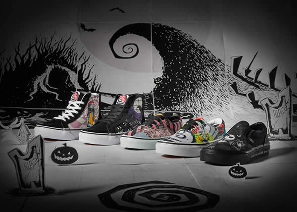 "VANS presenta la collezione dedicata a ""The Nightmare Before Christmas"""