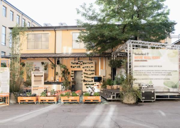 Timberland: Urban Greening è sbarcato a Milano