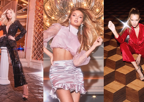 All That Glitters: Boohoo lancia la campagna con le top models Elsa Hosk, Romee Strijd, Josephine Skriver, Jasmine Tookes & Yvonne Simone