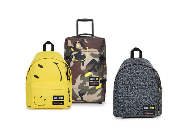 Smiley x Eastpak – Una collaborazione all'insegna del sorriso
