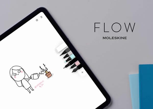 Flow by Moleskine riceve il premio come miglior App dell'anno per iPad