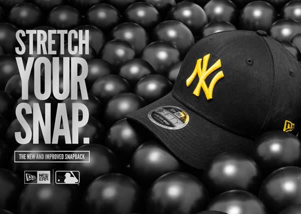 New Era lancia il nuovo cappellino Stretch Snap