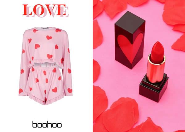 Boohoo: la capsule di San Valentino pop da regalare e regalarsi