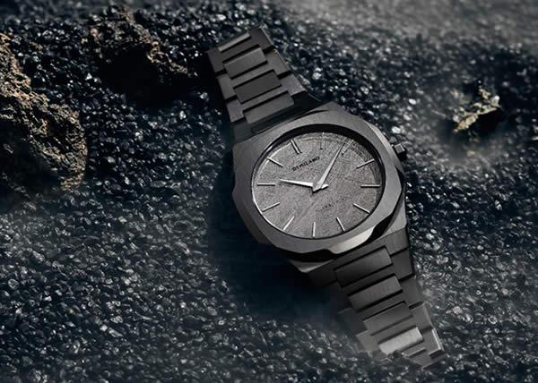 D1 Milano presenta la limited edition di orologi in vera meteorite