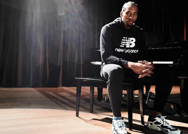 """New Balance introduce la nuova campagna """"We Got Now"""" con un video che vede protagonista il due volte campione NBA Kawhi Leonard"""