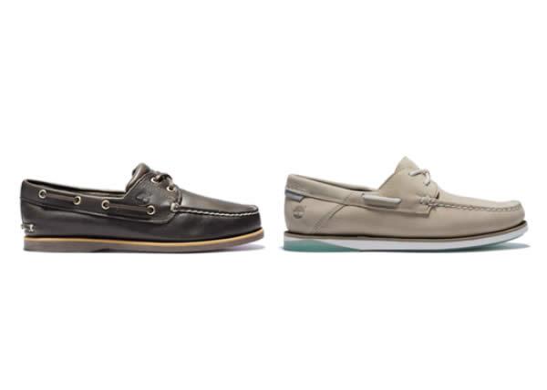 Timberland presenta le nuove boat shoes per la primavera 2020