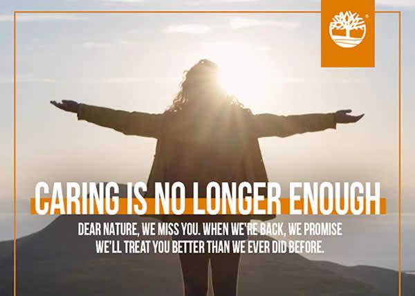 Timberland dedica una lettera alla natura in occasione della Giornata della Terra