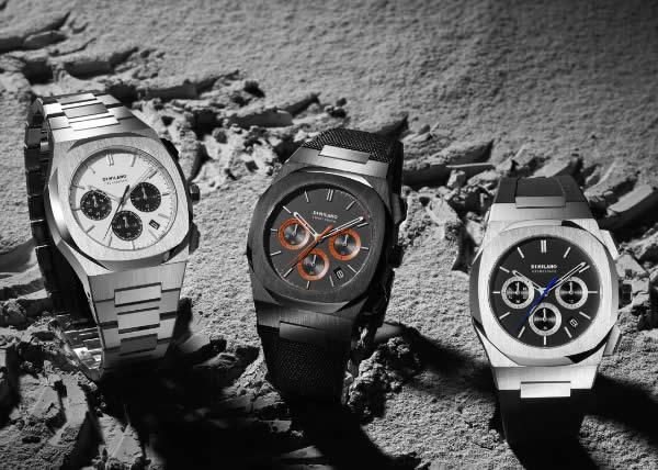 D1 MILANO PRESENTA LA COLLEZIONE CHRONOGRAPH:  un orologio tradizionale rivisitato in chiave nuova