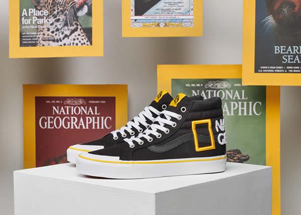 Vans celebra l'espressione creativa con National Geographic